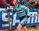 Sanne Cant finished third on the day. © Jonas Bruffaerts