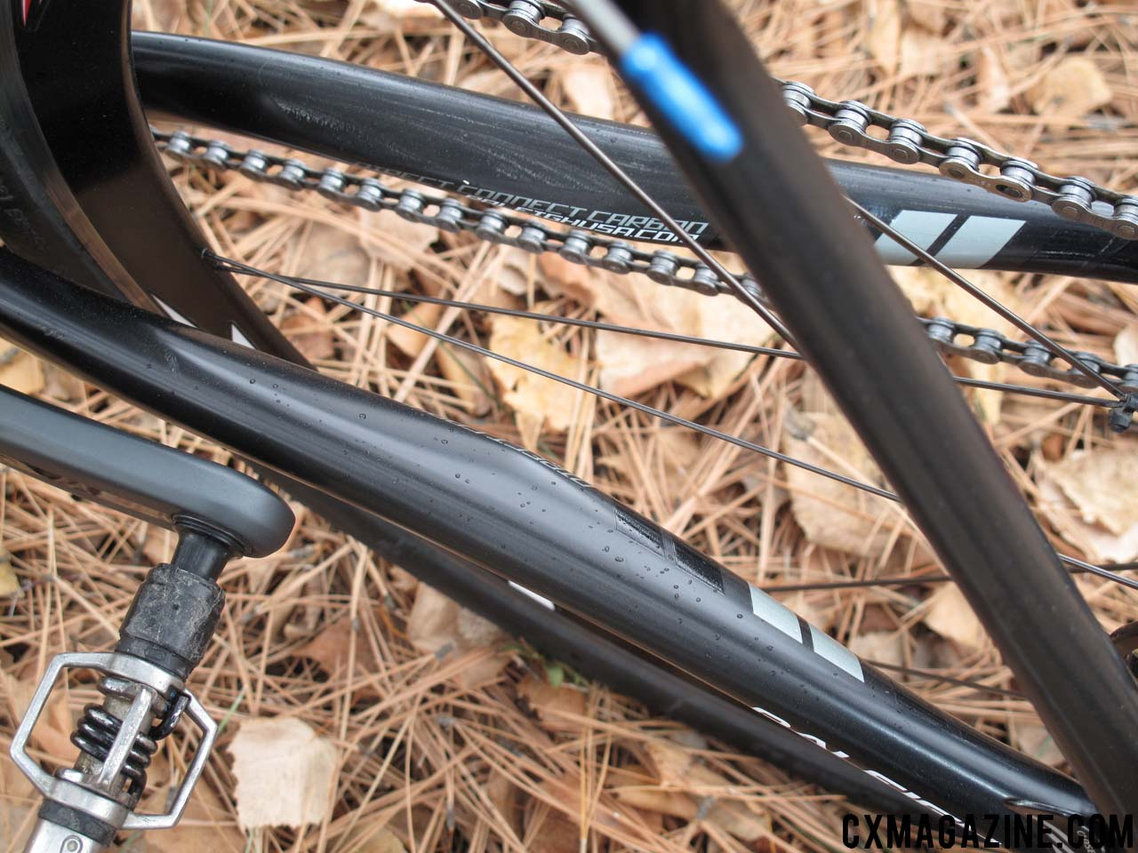 Shaped chain stays customize the ride.