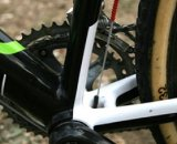Cannondale-Cyclocrossworld team bikes are all equipped with Gore's sealed cable systems © 2010 Matt James