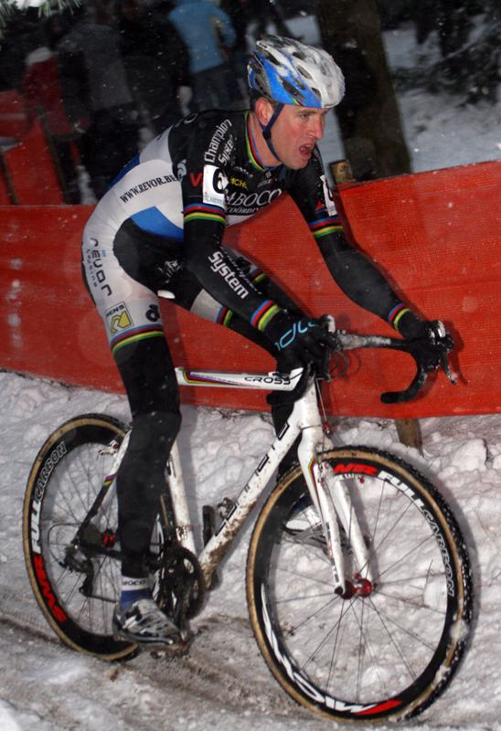 Erwin Vervecken races Kalmthout for the last time. ? Bart Hazen