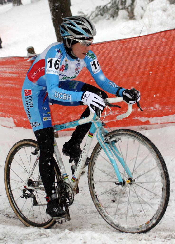 Nadia Triquet-Claude finished in 15th. ? Bart Hazen