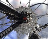 Compton uses all the new 2012 SRAM Red components except for the PG-1070 cassette, not the superlight SRAM Red XG-1090 X-Dome cassette or 1090-CX cyclocross cassette. © Cyclocross Magazine