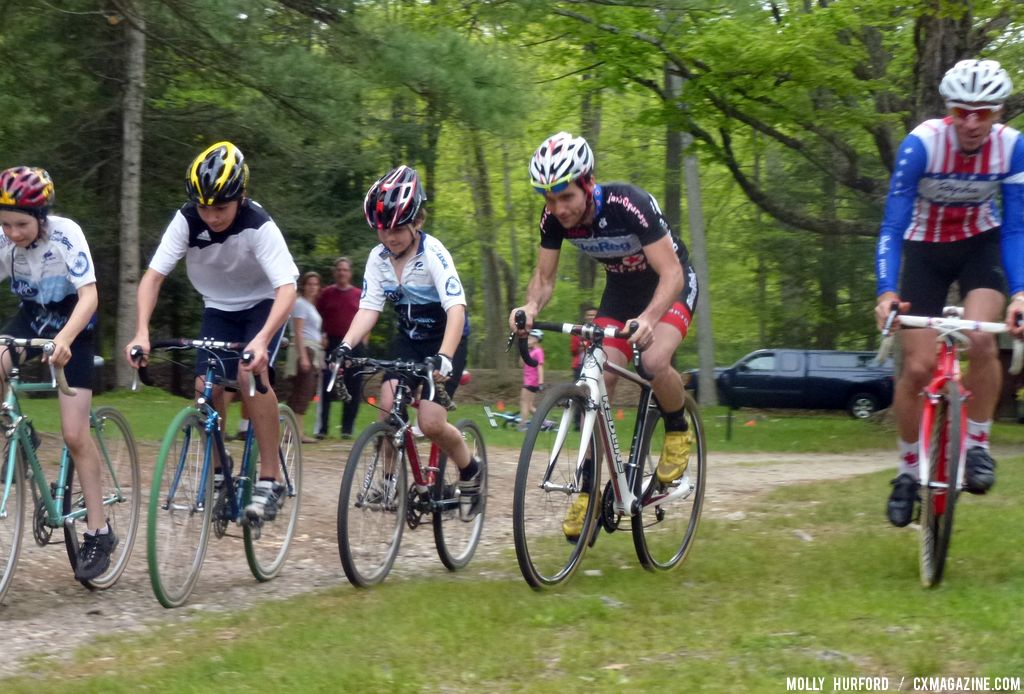 And they\'re off! © Cyclocross Magazine