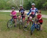 Posing for the parents © Cyclocross Magazine