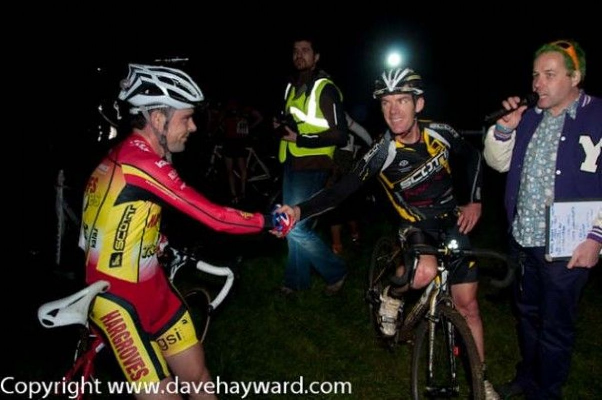 Jody and Nick post race © Dave Hayward