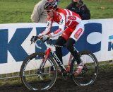 Riders had a rough time in the sloppy conditions at Koksijde. © Bart Hazen