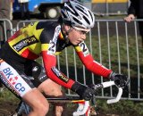 Sanne Cant is showing her strength in her first Elite season. © Bart Hazen