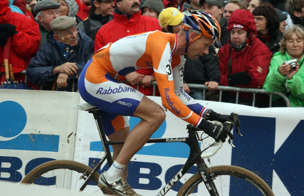Gerben de Knegt. Koksijde Elite Men World Cup 11/28/2009 ?Bart Hazen