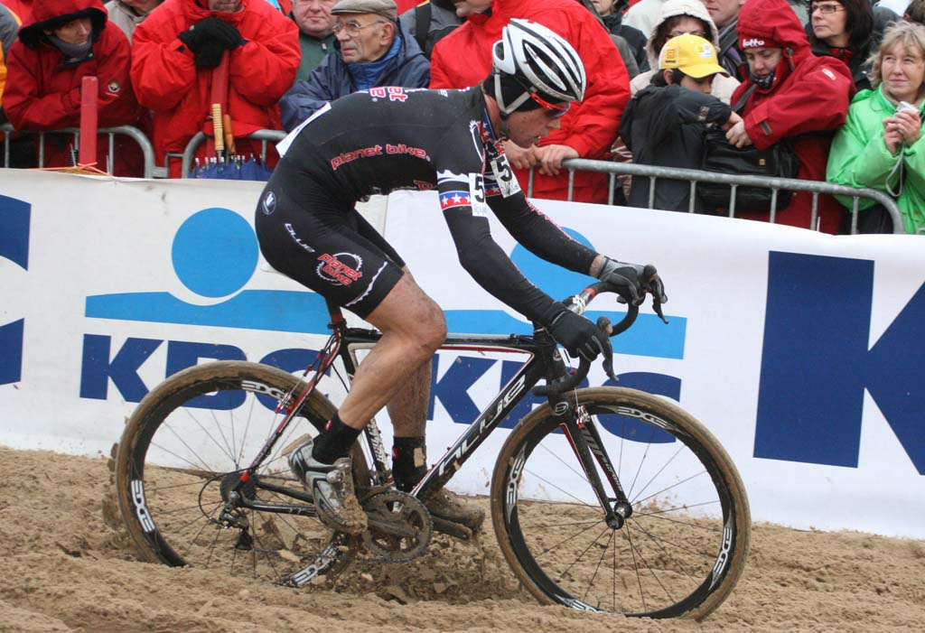 Planet Bike\'s Jonathan Page. Koksijde Elite Men World Cup 11/28/2009 ?Bart Hazen