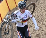 Hanka Kupfernagel is back! Koksijde Elite Women World Cup 11/28/2009 ?Bart Hazen