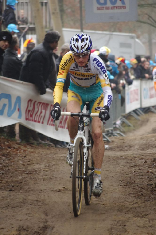 Kevin Pauwels on his way to a podium spot. Photo courtesy of Christine Vardaros.