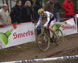 Geert Wellens heads to the finish in 33rd place.  Photo courtesy of Christine Vardaros.