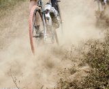 The trail obscured by dust was an all-too-familiar site © Oregon Cycling Action