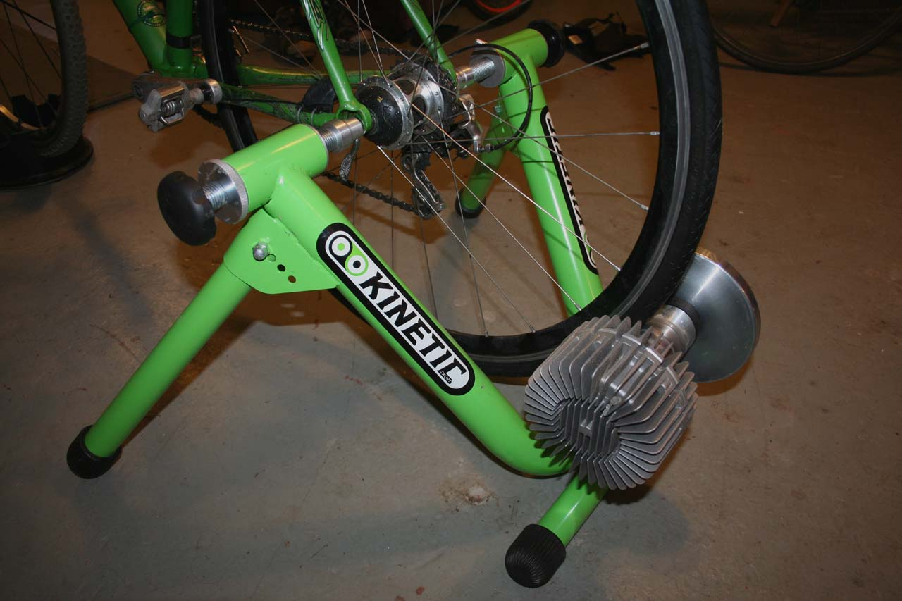 Ample cooling fans keep the temps down while a wider roller reduces tire wear ? Josh Liberles