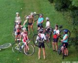 Ladies got a chance to practice their skills in a fun, casual environment at the first women's cyclocross clinic.