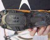 Lake Cycling's MX331 cyclocross shoe's sole, with optional eight stud locations. © Cyclocross Magazine