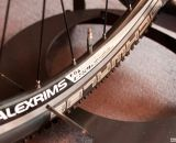 Alex wheels will handle rim brakes or disc brakes. LaPierre Cross Carbon. © Cyclocross Magazine
