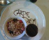 Carpe Diem...and Tiramisu! Courtesy Lars Boom