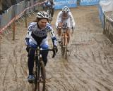 Sanne van Paassen leads Vos in the sand ? Dan Seaton