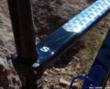 New seat clamp keeps your seatpost firmly in place on the Liv/Giant Brava SLR. Interbike 2013 © Cyclocross Magazine