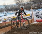in the Masters Women 45-49 and 50-54 Hogan calm and in change of the 45-49 and 50-54 at the 2014 National Cyclocross Championships. © Steve Anderson