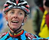 Exhausted after the 45-49 and 50-54 at the 2014 National Cyclocross Championships. © Steve Anderson