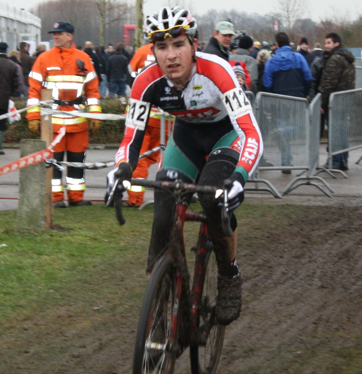 Yannick Eckmann on his Last Lap. ? Dan Seaton