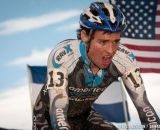 Lewis Gaffney in U23 2014 Cyclocross National Championships. © Steve Anderson
