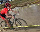Linda Sone in the sandpit puddle, Cat 3 Men's race ? Matthew Haughey