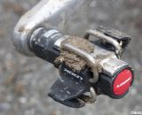 Mud hung around but didn't interfere, surprisingly. Look S-Track mtb / cyclocross pedal reviewed. © Cyclocross Magazine