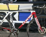 Look's new carbon disc brake-only X-85 cyclocross frameset is in production and shipping soon. ©Cyclocross Magazine
