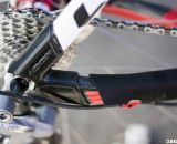 Look protected the carbon X-85 dropouts and chainstays from cyclocross abuse. ©Cyclocross Magazine