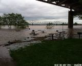 The Ohio River is still rising and expected to crest Thursday.  © Mary and Nolan Boyd