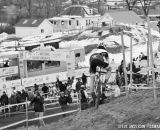 Brevard in the first ever Collegiate Relay at the 2014 National Cyclocross Championships. © Steve Anderson
