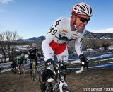 The climbs had many racers grunting. 2014 Masters 45-49 Cyclocross National Championships. © Steve Anderson