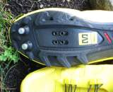 Close-up of carbon sole, tread and cleats ? CXM