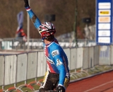 Stybar salutes his win