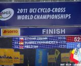 Atmosphere shot at the finish