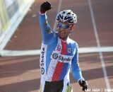 Zdenek Stybar takes his second Elite Men's Cyclocross World Championship title in a row.