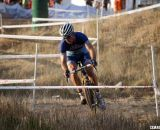 Winding around the tape at the 2012 Raleigh Midsummer Night Cyclocross Race. @Cyclocross Magazine