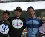 Johnson, Trebon and Page. 2012 Raleigh Midsummer Night Cyclocross Race. @Cyclocross Magazine