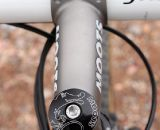 A Moots wouldn't be complete without a Moots titanium stem or seatpost. © Cyclocross Magazine