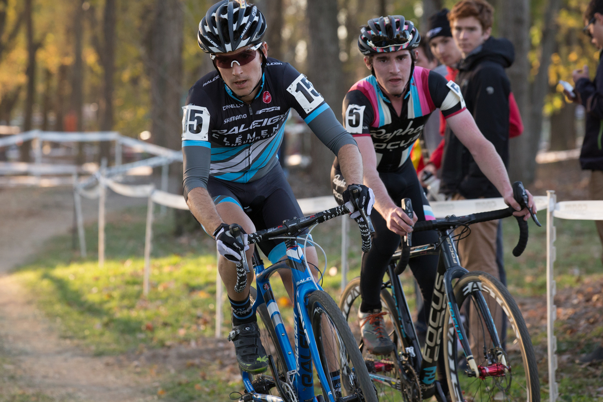 Allen Krughoff had his best UCI race weekend to date at the Derby City Cup. © Wil Matthews