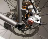 Avid BB7 Disc-brake equipped. ©Cyclocross Magazine