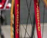 You can't miss the Richard Sachs logo at Nahbs 2012. ©Cyclocross Magazine