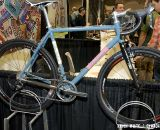 The DeSalvo's titanium cyclocross bike featured at NAHBS displayed Shimano's CX-70 cyclocross group and a number of Ritchey components. © Kevin White
