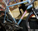 DeSalvo brought a custom titanium cyclocross bike to NAHBS, and said that titanium orders have surpassed requests for steel in recent years. © Kevin White