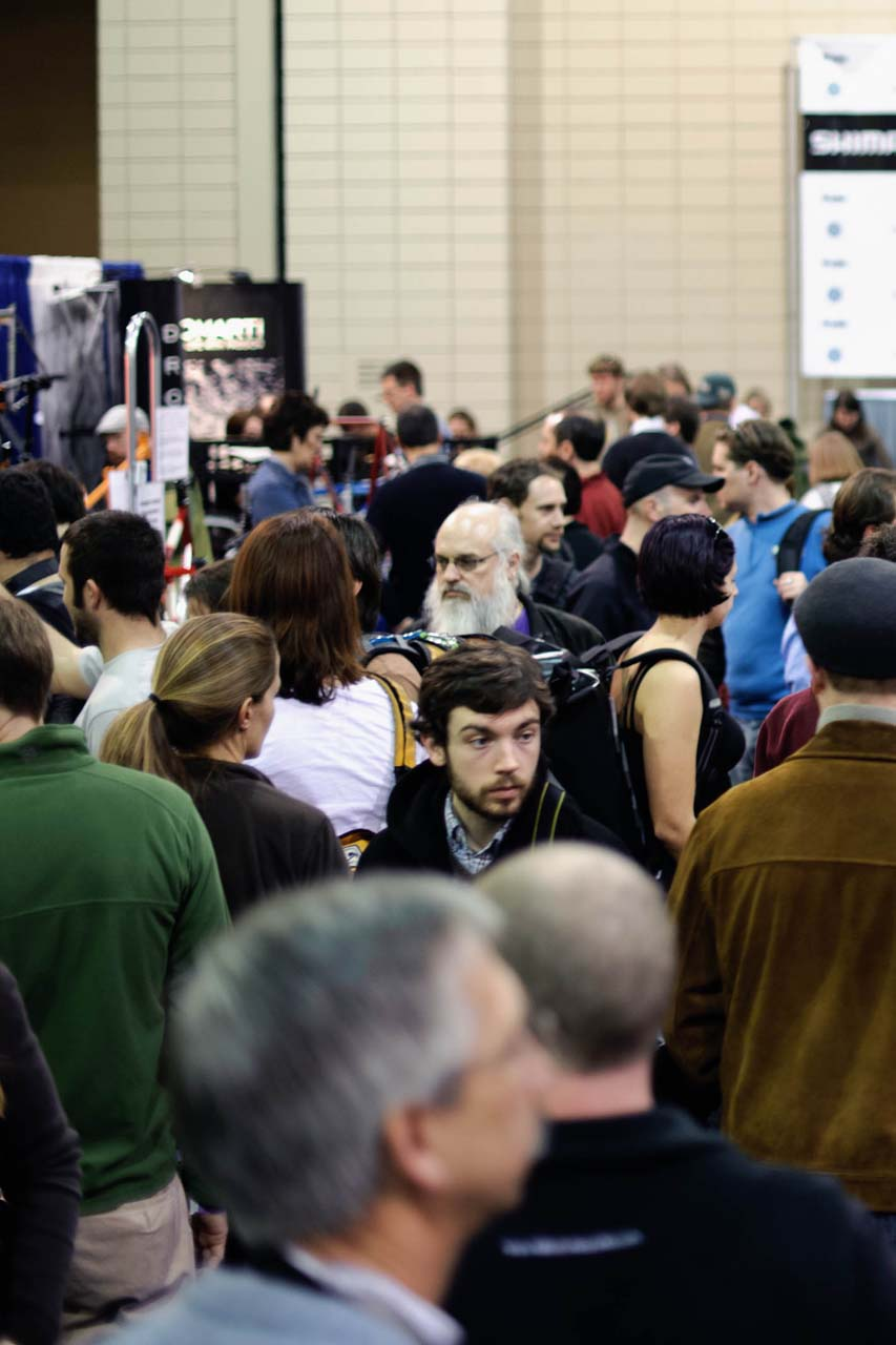 Record crowds filled the Greater Richmond Convention Center for the 2010 NAHBS. ? Bill Schieken/www.cxhairs.com