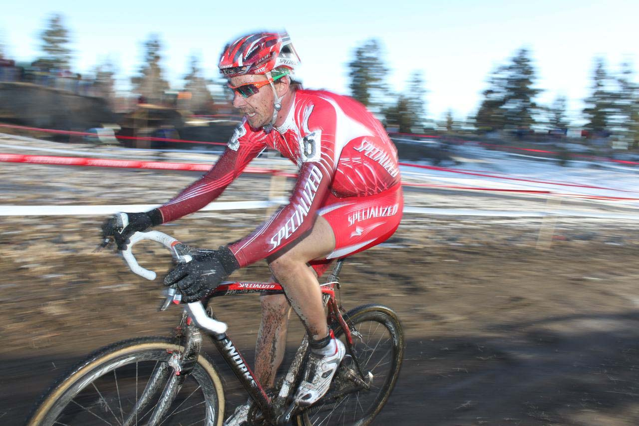 Todd Wells rode consistently to take fourth in Bend. ? Cyclocross Magazine