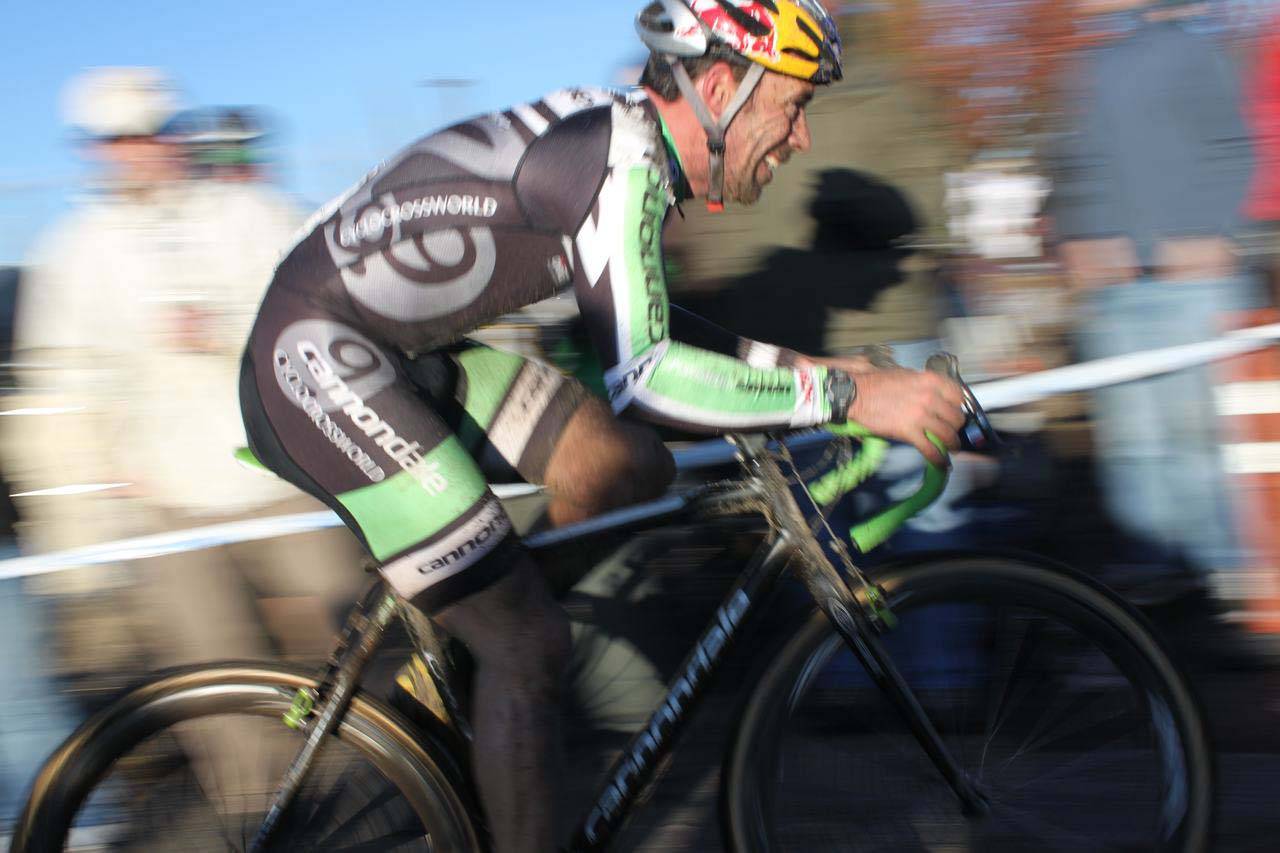 The face tells the story. ? Cyclocross Magazine
